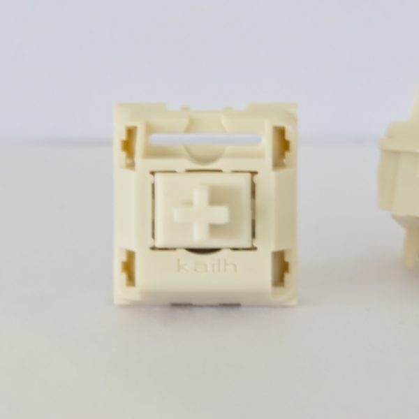 Novelkeys x Kailh Cream Switch Top View
