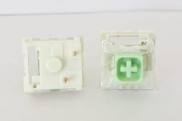 Novelkeys x Kailh Box Jade Switch Top and Bottom View