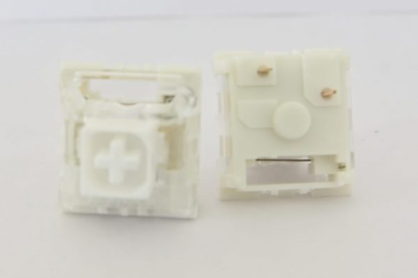 Kailh Box White Top and Bottom View
