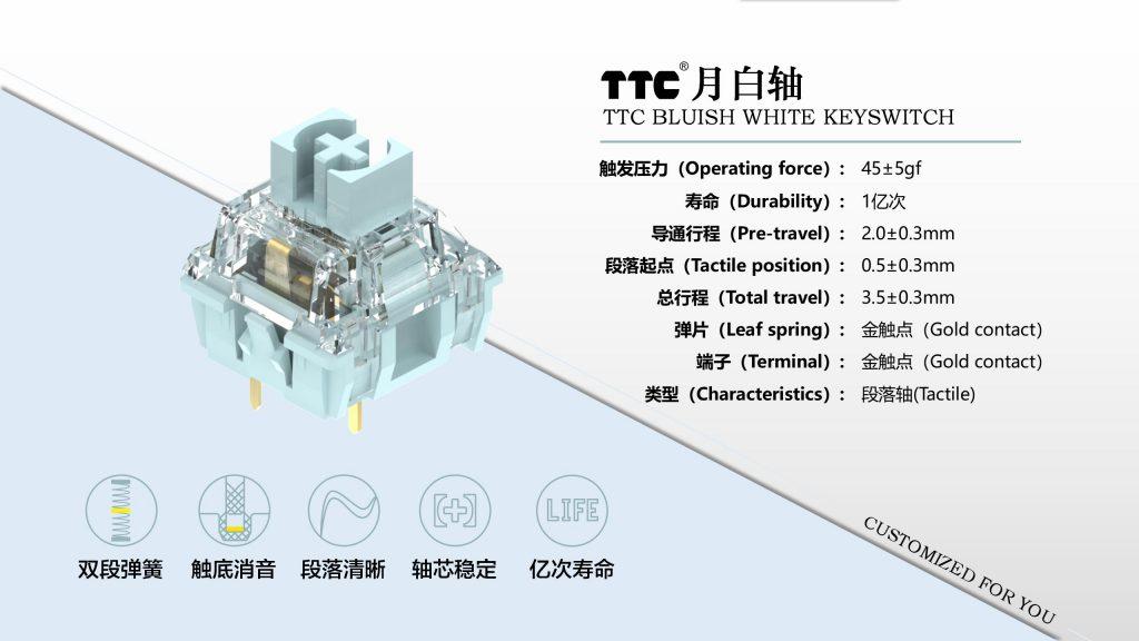 TTC Blusish White Specs