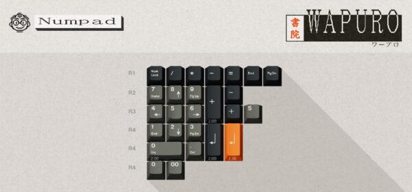 ePBT Wapuro Numpad Kit