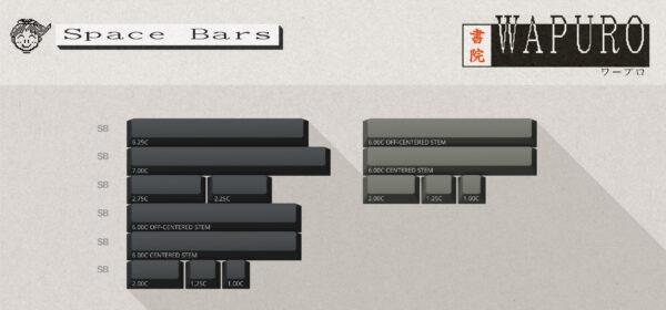 ePBT Wapuro Spacebars Kit
