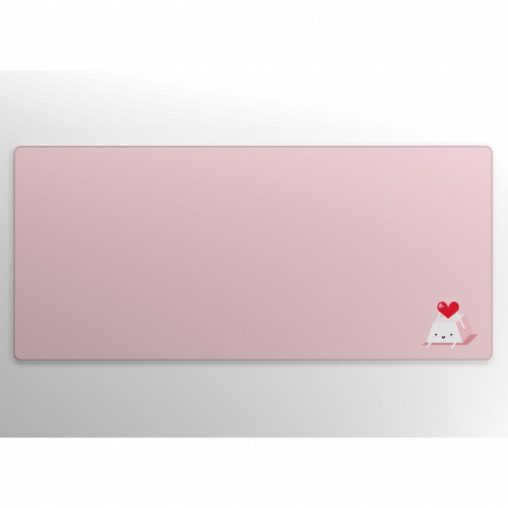 Heart Keycap on Pink