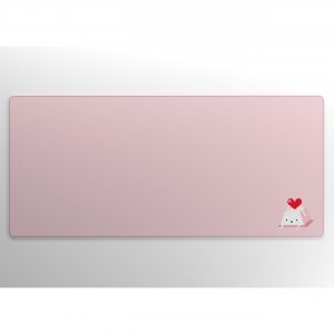 Keycap Buddy Heart Keycap on Pink