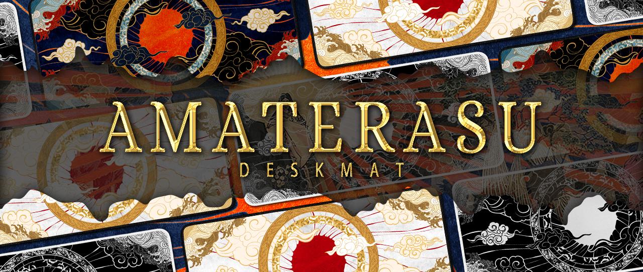 Amaterasu Deskmat Banner